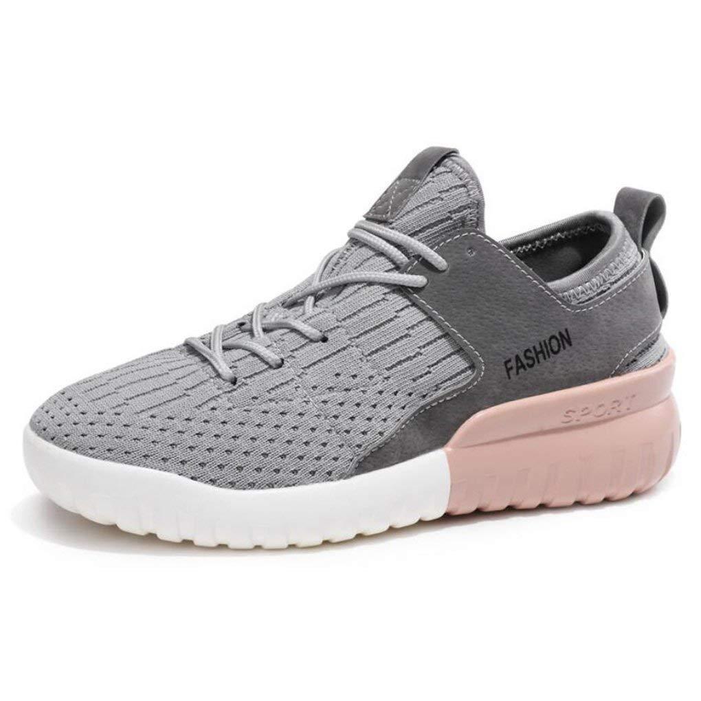 Oudan Turnschuhe der Frauen, 2018 Frühlings Studenten-Breathable Sport-Schuhe, Weibliche Leichte Koreanische Freizeitschuhe, Laufende Kokosnuss-Schuhe (Farbe : C, Größe : 38) (Farbe : B, Größe : 36)