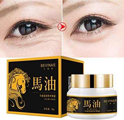 Oyalaiy Horse Oil Firming Eye Cream Moisturizing Remove Dark