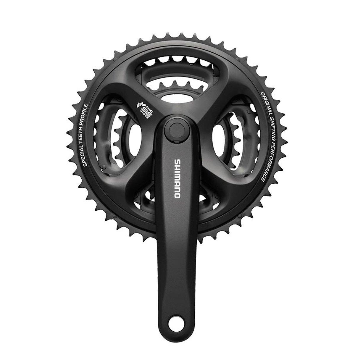 Best Rated In Bike Cranksets Helpful Customer Reviews Crank Shimano Alivio Touring 26 36 48 T Fc M171 Altus Crankset Black 170 Mm 38
