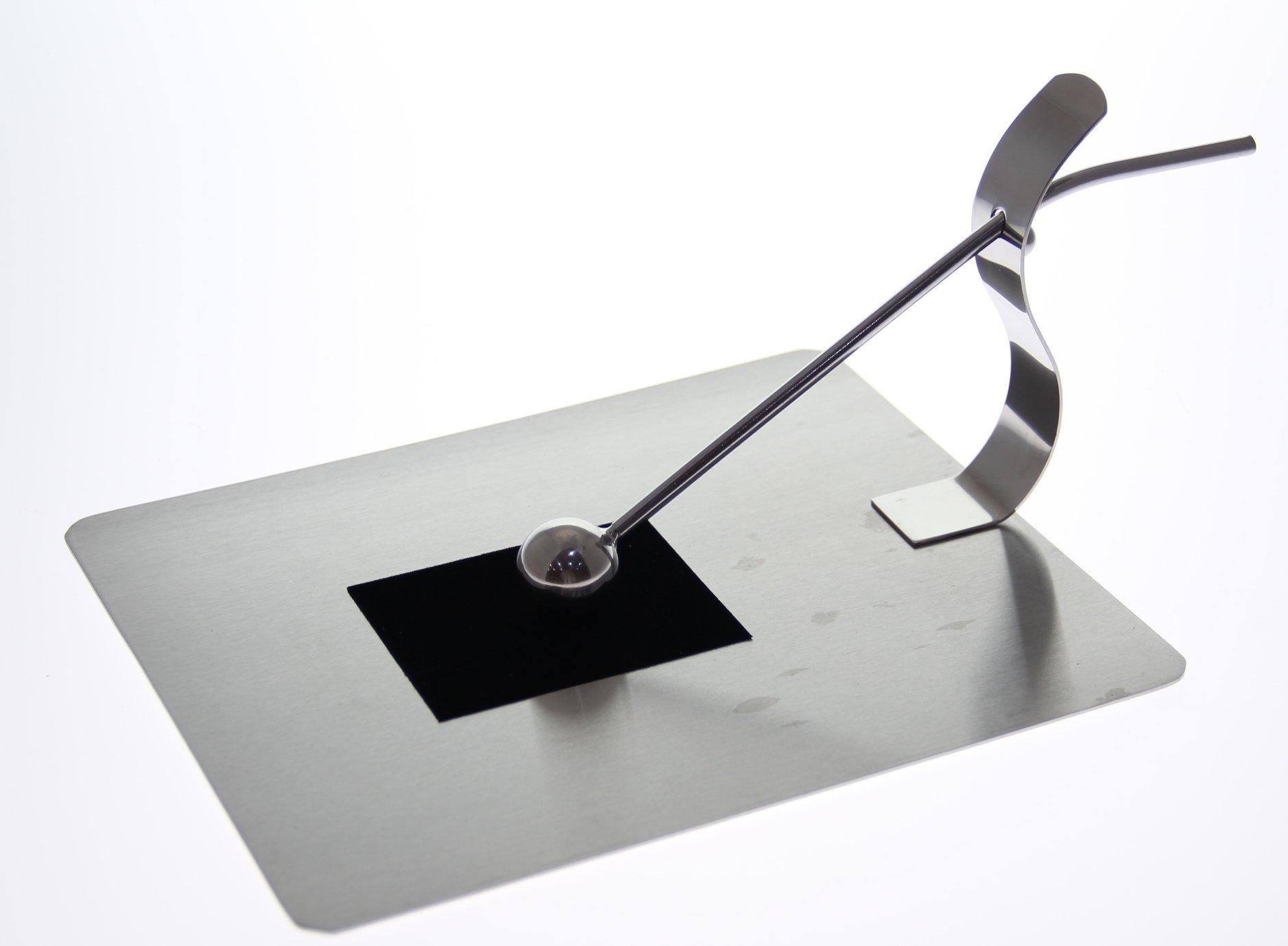 justnile modern napkin holder  stainless steel gripping ball  ebay - description