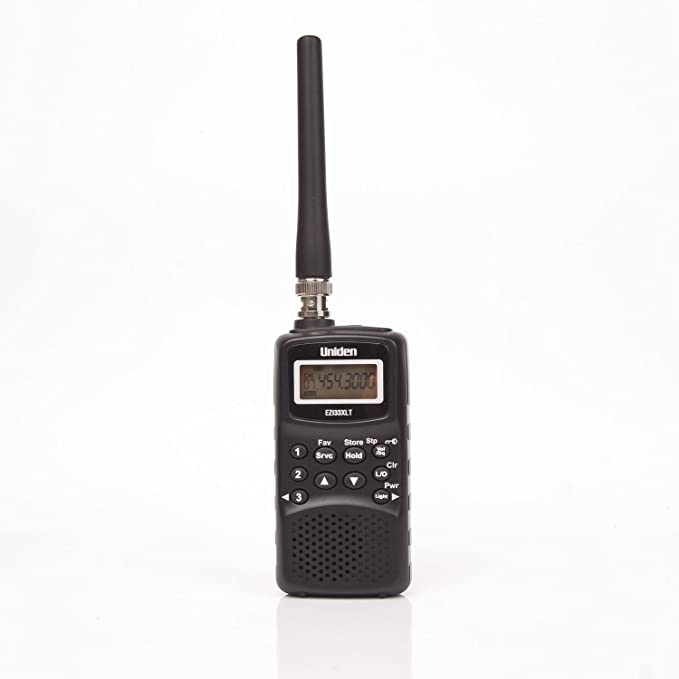 Uniden EZI33XLT compact radio scanner / Hand-held / Frequency bands: VHF-L FM Airband VHF-H UHF/ Work time: up to 24 h / 180 frequencies / by SpyShop