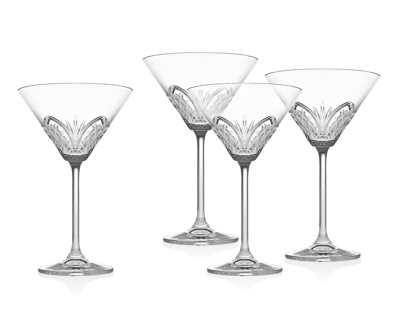 Dublin Reserve Martini (Set of 4) Godinger Silver Art Co RTL159551