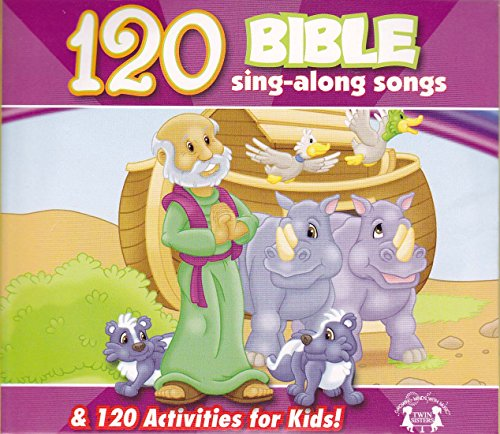 Price comparison product image 120 Bible Sing-Along Songs & 120 Activities for Kids
