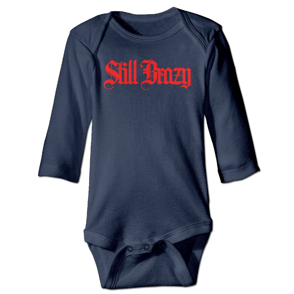 f600796fdfe Baby onesie still brazy long sleeve toddler bodysuit clothing accessories  jpg 1000x1000 Brazy baby outfits
