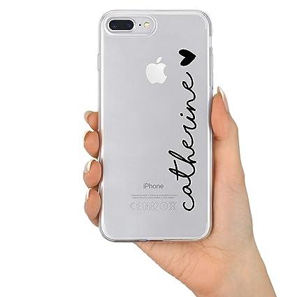 amazon com tullun custom personalized name \u0026 heart clear hard