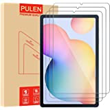 [3-Pack] PULEN for Samsung Galaxy Tab S6 Lite Screen Protector SM-P610/P615,HD No Bubble 9H Hardness Anti-Scratch…