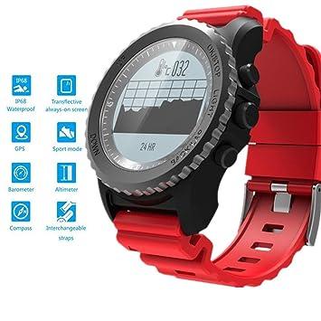 HMCYKJ GPS Reloj Inteligente IP68 Impermeable Monitor de ...