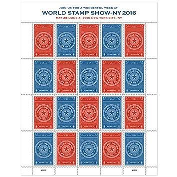 Amazon | Sheet of 20 World Sta...