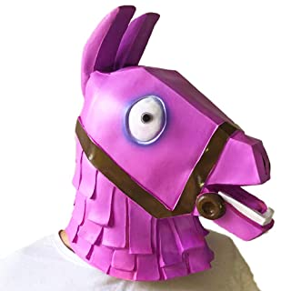 ABC Life Fortnite Rainbow Horse Lama Mask Helmet Halloween Cosplay Season Natural Latex