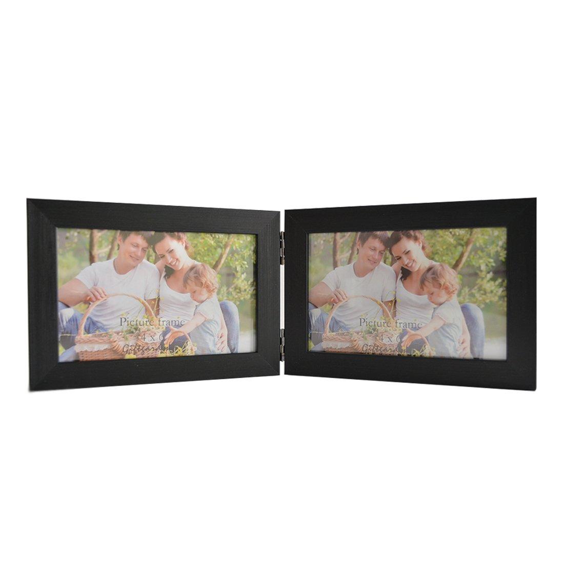Amazon.de: Giftgarden Bilderrahmen 10 x 15 cm Holz Fotorahmen ...
