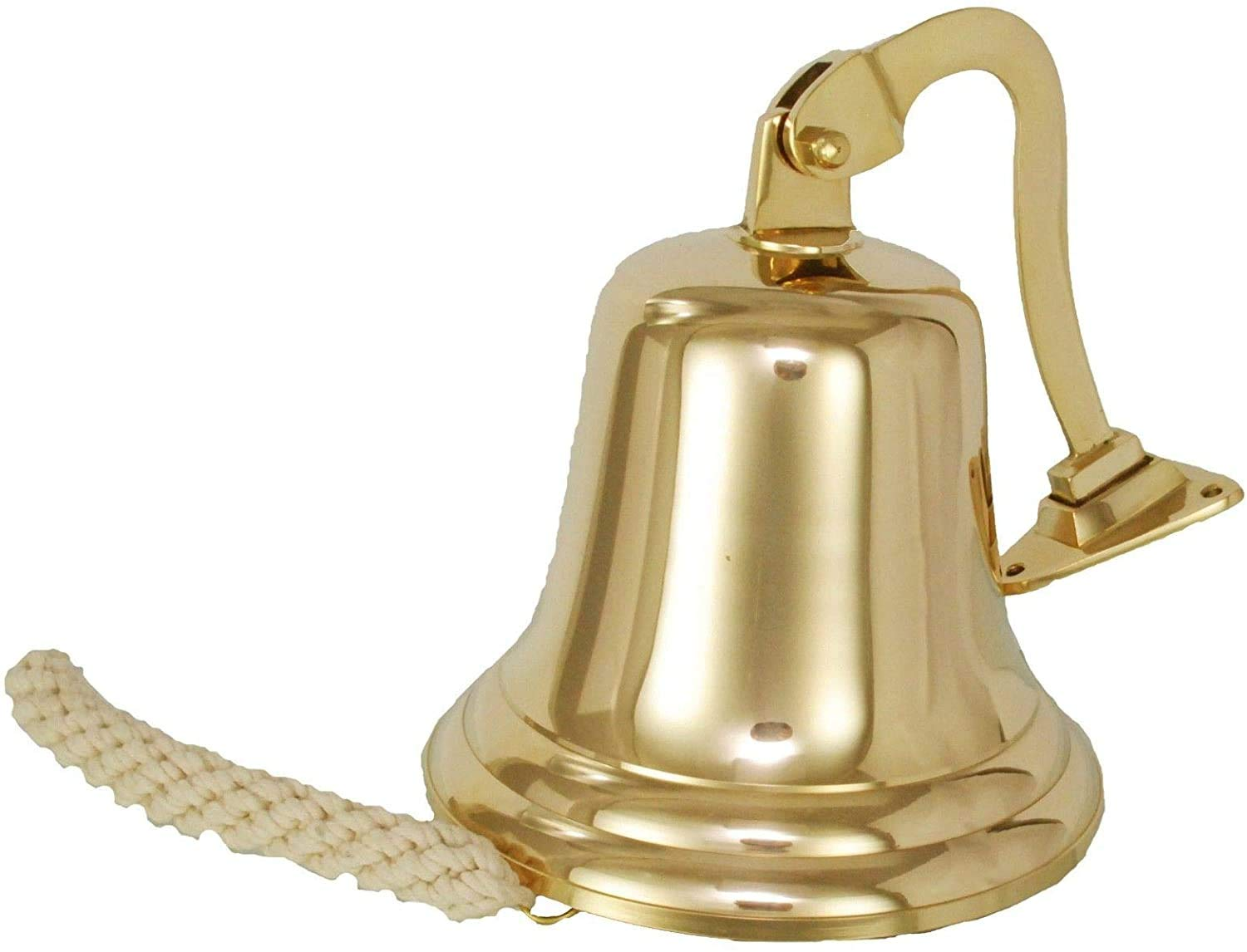 Brass Bell Vintage Antique Brass Hanging Ship Bell Brass Ship Bell Antique for School Dinner Pub /& Reception Home Decor Wall Mounted
