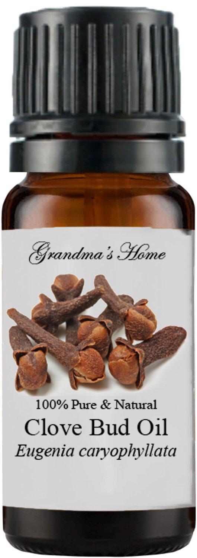 Grandma's Home Essential Oils - 100% Pure Therapeutic Grade (Clove (Bud), 10 mL)