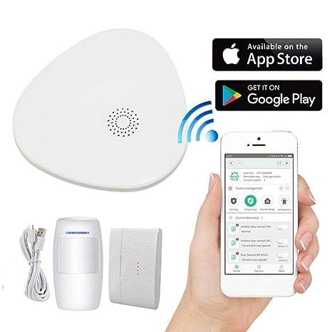 Bouncevi Alarma Inteligente inalámbrica WiFi Sistema de ...