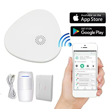 Blossomer Alarma de Seguridad Inteligente, Sistema de ...