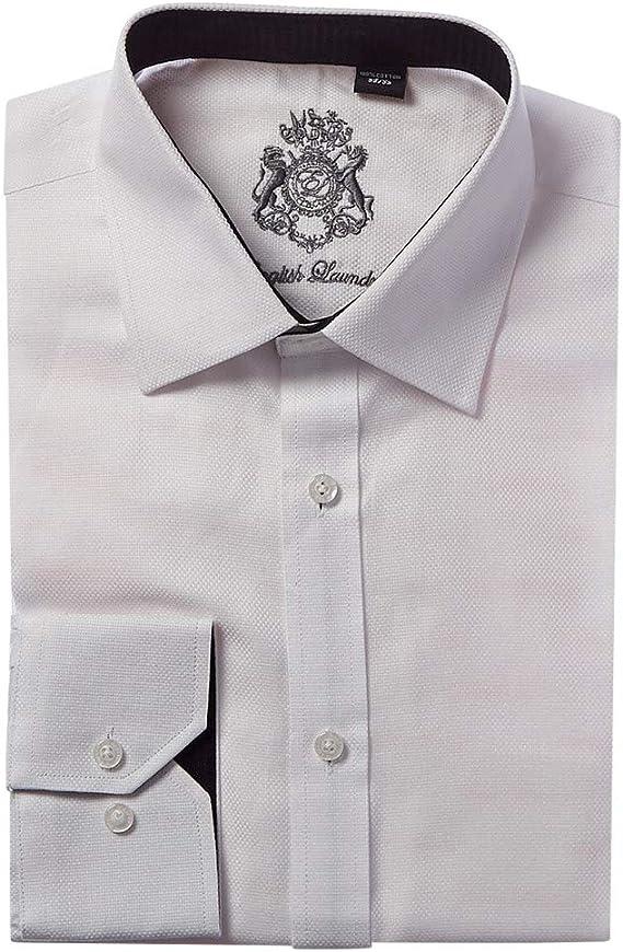 Amazon.com: Camisa de vestir de lavandería inglesa: Clothing