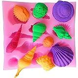 YOKIRIN® Stampo in silicone Accessori del fondente della decorazione torta al cioccolato stampi, stampi zucchero Torte, stampi di sapone (stile di vita di marina 2)