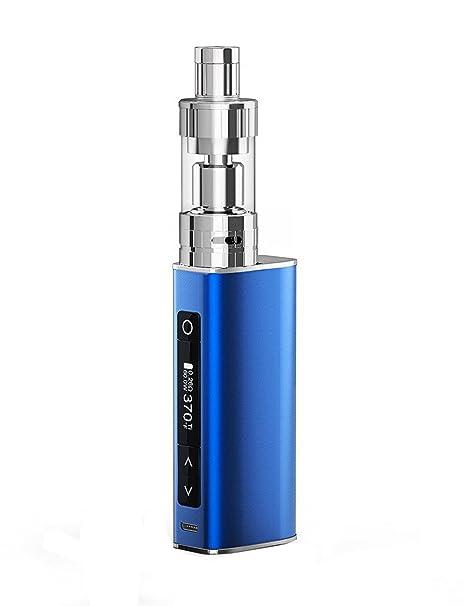 VIVA-KITA MOVE 60TC E Cigarette Vape Box Mod Kit 60W, Top Refill 0 25  Sub-Ohm Vapour Tank, Temp Control & VW 1900mah Built-In Battery with OLED