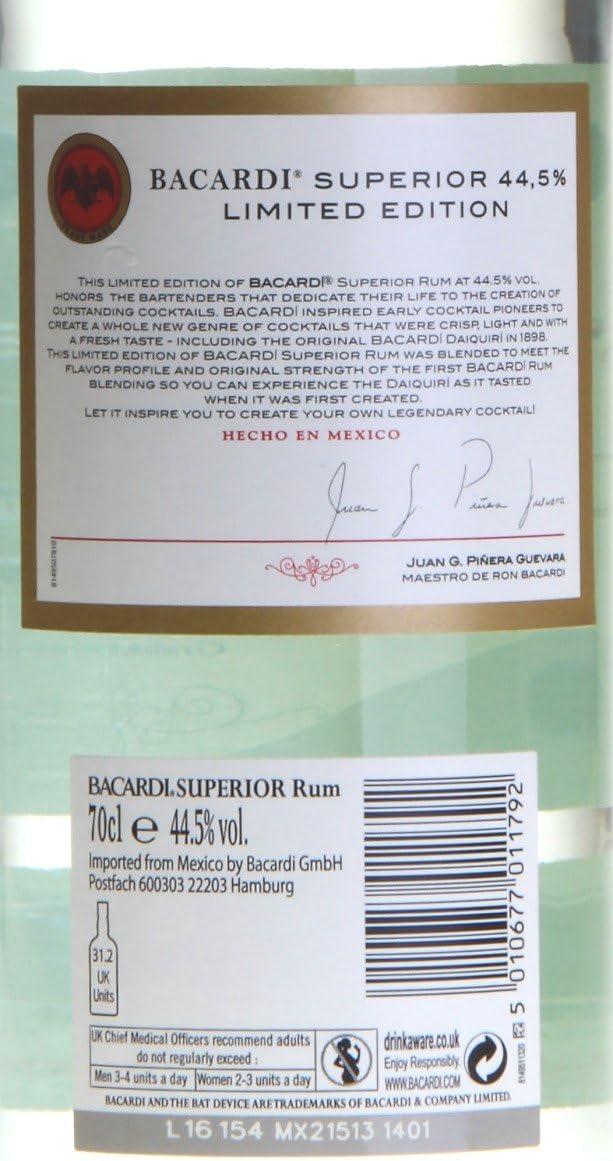 Bacardi Ron Heritage - 700 ml