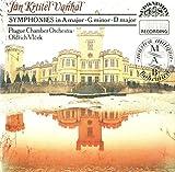 Vanhal: Symphonies in A Major, G Minor, D Major