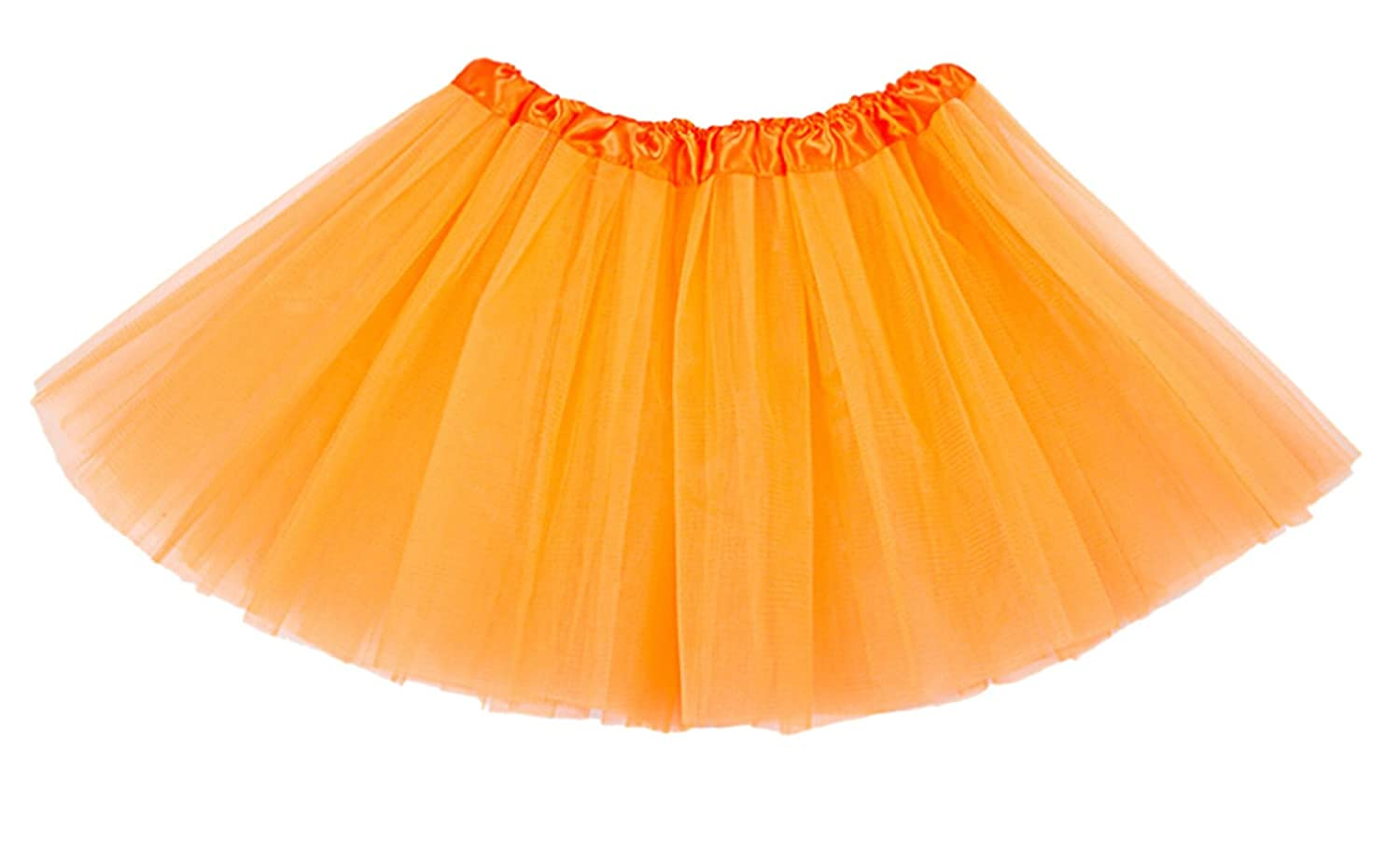 Anmengte Girls Prom Party Underskirt Petticoat Tutu Crinoline Skirts Cute Colors