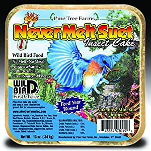 PINE TREE FARMS INC 3015 NEVER MELT SUET INSECT 13 OUNCE