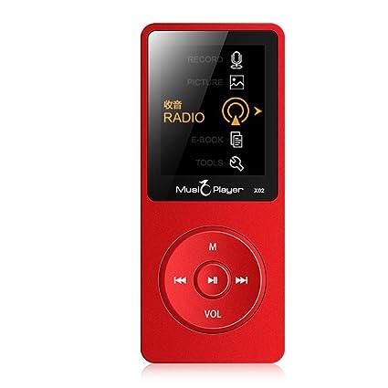 cfzc X02 Ultrafino Altavoz MP3 MP4 Reproductor de música con ...
