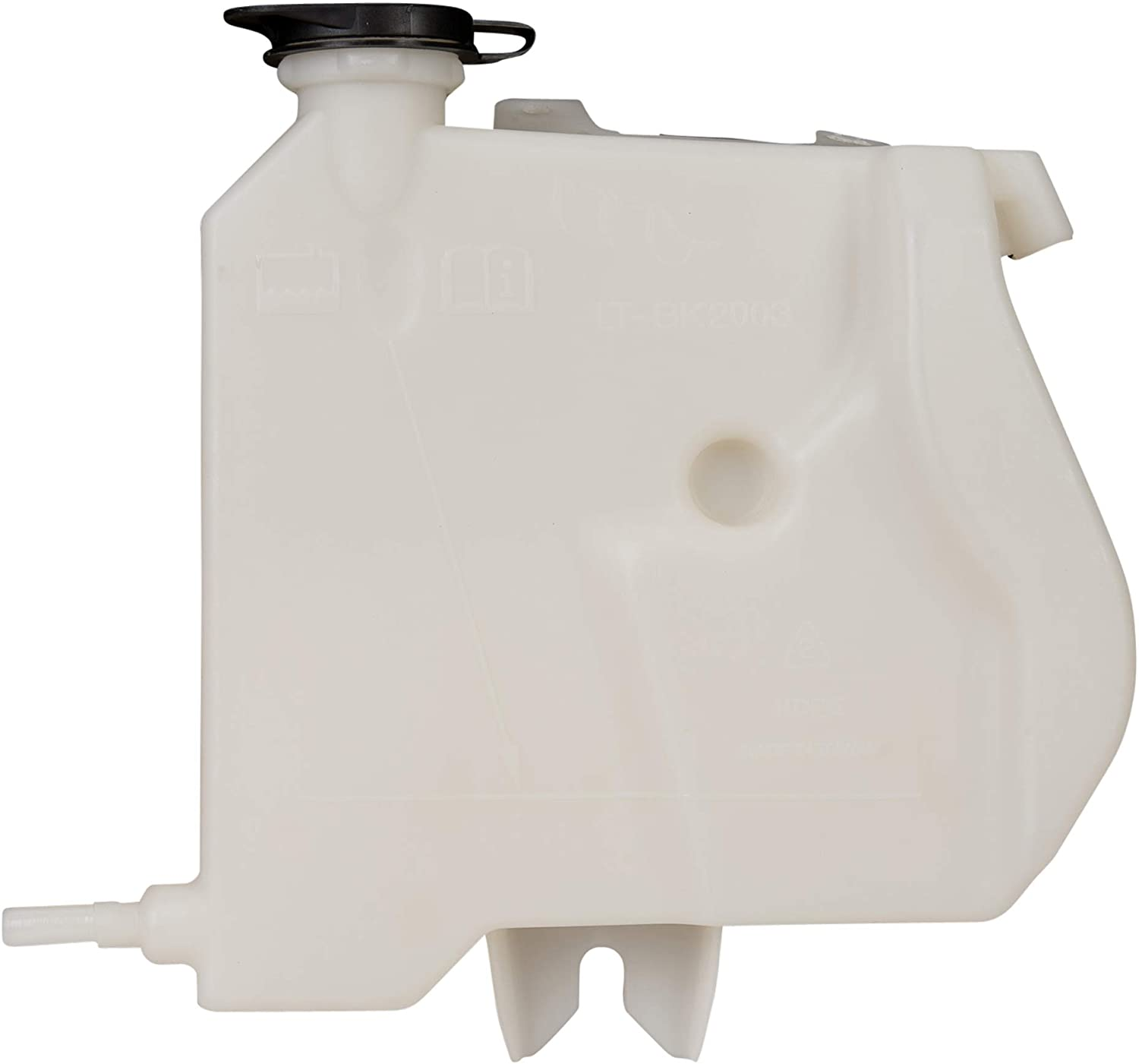 cciyu Coolant Tank Reservoir Fits for 2007-2014 for Cadillac//for Chevrolet//for GMC 22797286 13502353