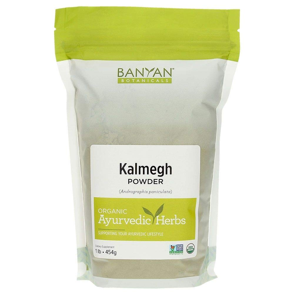 Banyan Botanicals Organic Kalmegh Powder - Andrographis paniculata - 1 lb - Bitter Herb for Immune Health and Respiratory Support*- Non-GMO Sustainably Sourced No Additives or Fillers Vegan