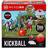 Wicked Big Sports Supersized Kickball Outdoor Sport Tailgate Backyard Beach Game Fun for All