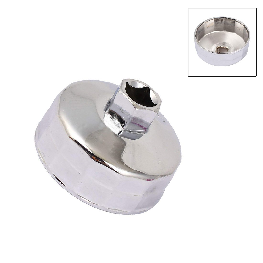 XMHF 64mm//2.5Inch Inner Diameter Oil Filter Wrench Tool for Car Users