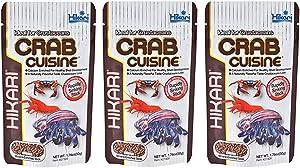 Hikari Crab Cuisine Food (1.76 oz.) [Set of 3]