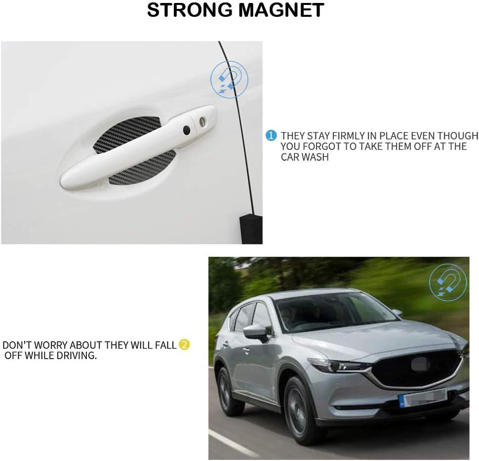MLING Auto Magnetisch T/ürgriffmulde Schutz Kratzfest T/ürgriffmulde Abdeckung 4 St/ück Kompatibel f/ür CX5