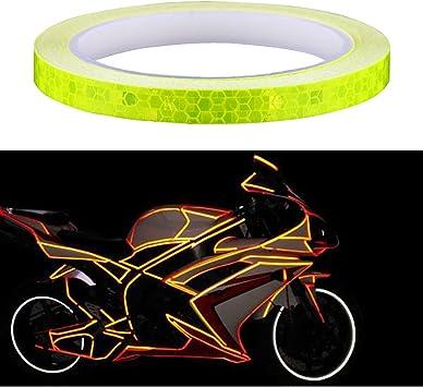 Amaoma Pegatinas Reflectantes para Bicicleta 8M (315