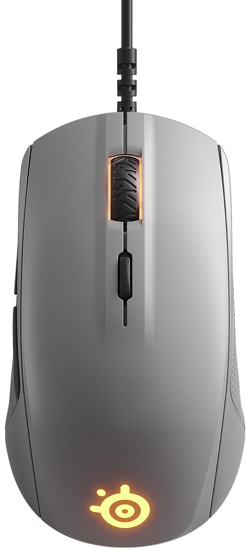 SteelSeries Rival 110 - Ratón de Juego óptico, iluminación RGB, 6 Botones, Gris: Amazon.es: Informática