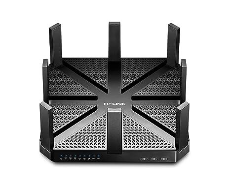 TP-Link Talon AD7200 - Router Gaming inalámbrico (802.11ad, 7200 Mbps, Gigabit, Tri-Banda, MU-MIMO, Beamforming, IPv6, Servidor VPN, USB 3.0)