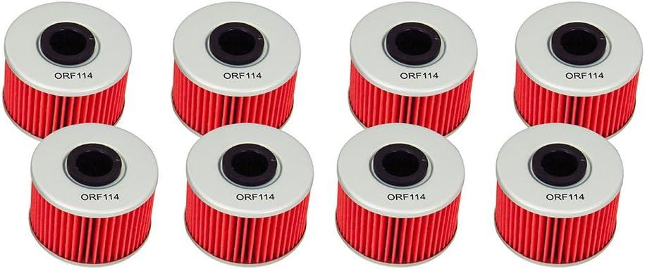 Pro Braking PBK7207-ORA-RED Front//Rear Braided Brake Line Orange Hose /& Stainless Red Banjos