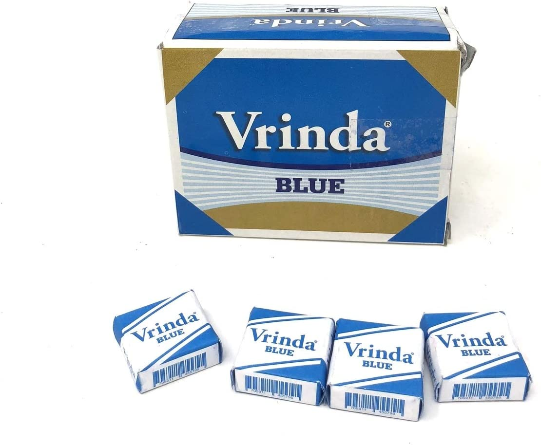 Vrinda ® Blue Squares Box of 48