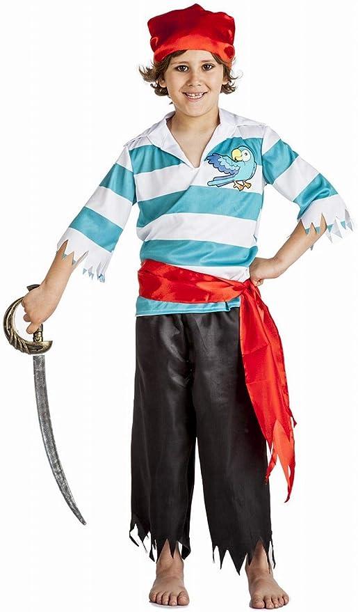 Disfraz de Pirata Loro Niño (10-12 años): Amazon.es: Ropa y accesorios