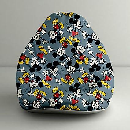 Orka Bean Bags Mickey Mouse Digital Printed Bean Bag Xxl Cover