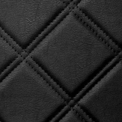 WallFace 15030 ROMBO Wall panel leather square 3D interior decor luxury wallcovering self-adhesive black   2,60 sqm by Wallface (Image #6)