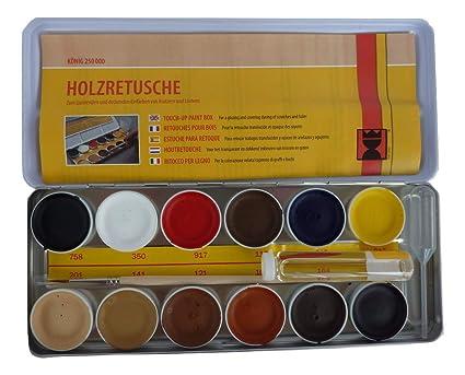 Fascinating Finishes Ltd 1 X Furniture Worktop Laminate Floor Repair Cellulose Paint Set