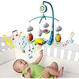 Móbile Giratório Musical De Bebê - Avião, Kitstar
