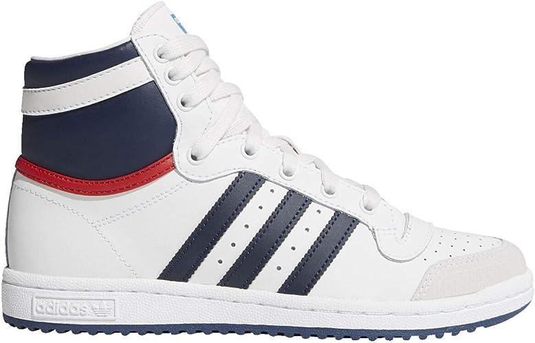 TOP TEN HI FTWWHT Adidas Herren Originals Schuhe