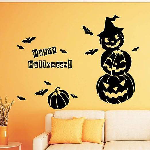 Creativo Halloween autoadhesivo vinilo impermeable pared ...