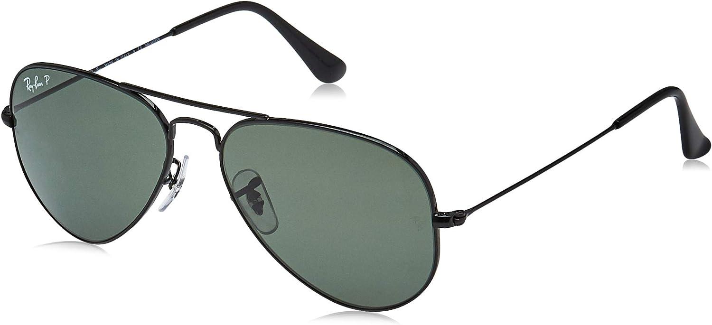 TALLA 55. Ray-Ban Aviator RB 3025, Gafas de Sol Unisex, NULL, NULL