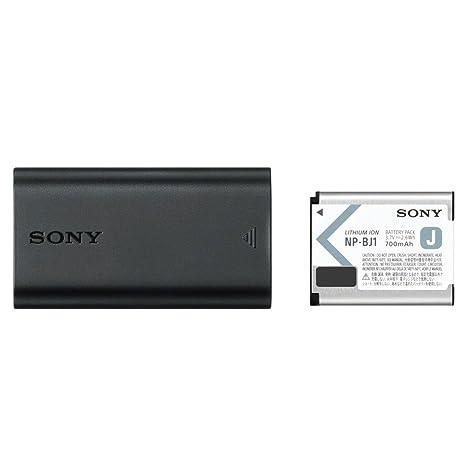Sony Cyber-Shot Acc de trdcj Kit de Accesorios (batería con Cargador), Color Negro