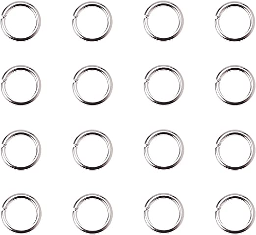 500 x Antique Bronze Tone 5mm Open Jump Rings for Necklaces Bracelets and other Jewellery Making Crafts
