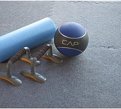 Steckmatte 10 Stück Bodenmatte Puzzlematte, 60cmx60cm x 20mm Fitnessmatten
