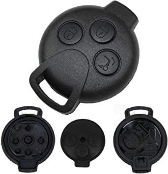 Smart Autoschlüssel 3 Tasten Gehäuse 451 Fortwo Forfour Elektronik
