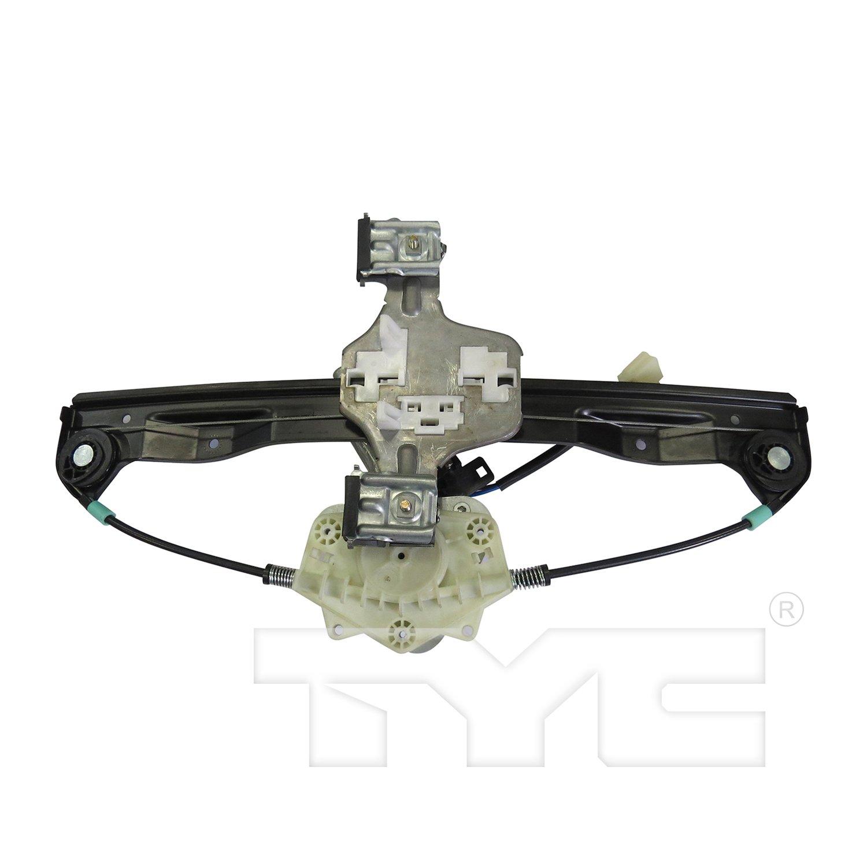 TYC 660526 Rear Left Replacement Window Regulator